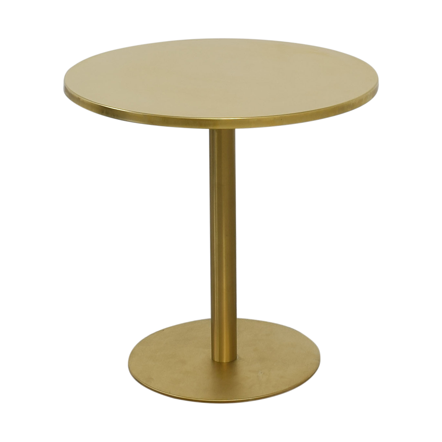 CB2 Watermark Bistro Dining Table sale