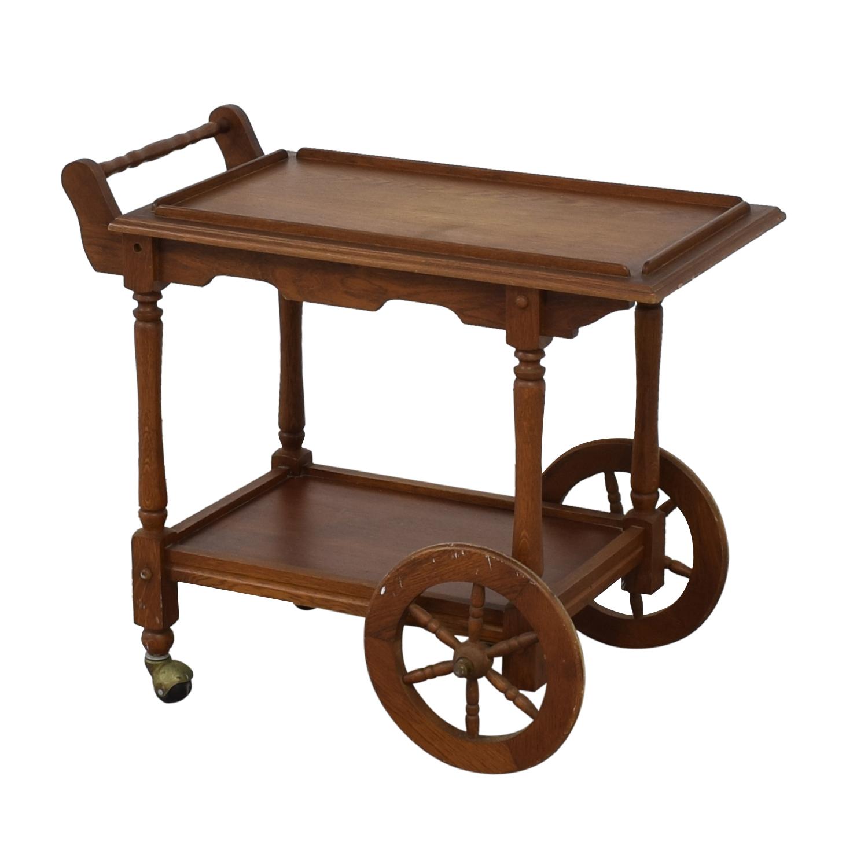 Custom Amish Hardwood Tea Cart coupon