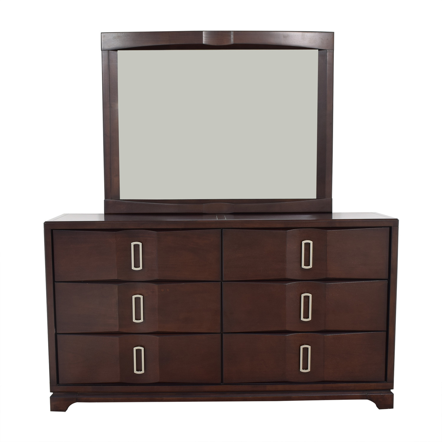 Casana Furniture Casana Furniture Dresser with Mirror pa
