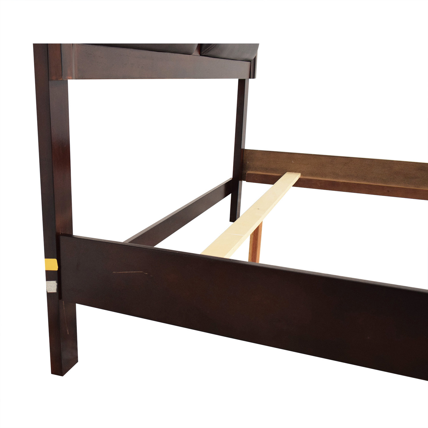 Panel Headboard Queen Bed Frame second hand