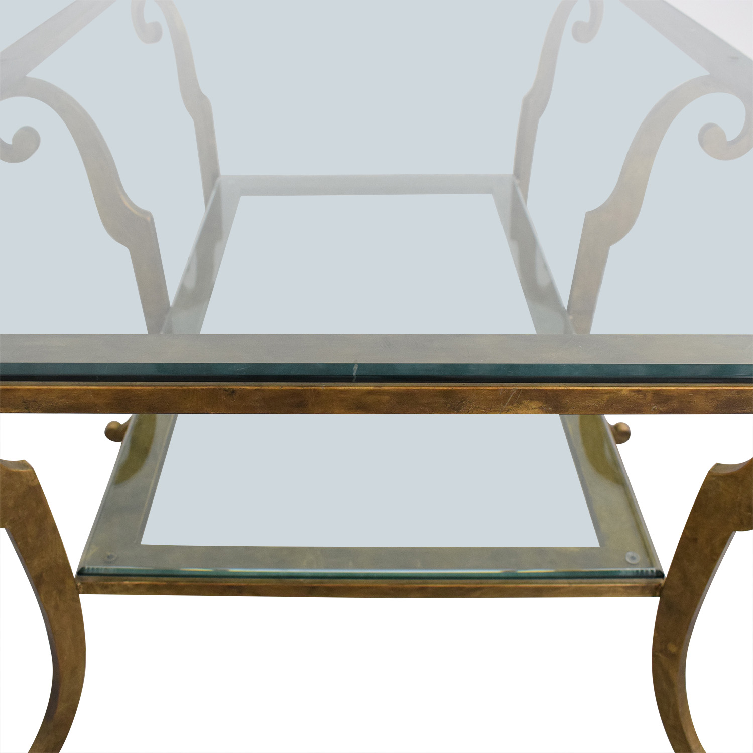 Ethan Allen Ethan Allen Two Tiered Coffee Table for sale