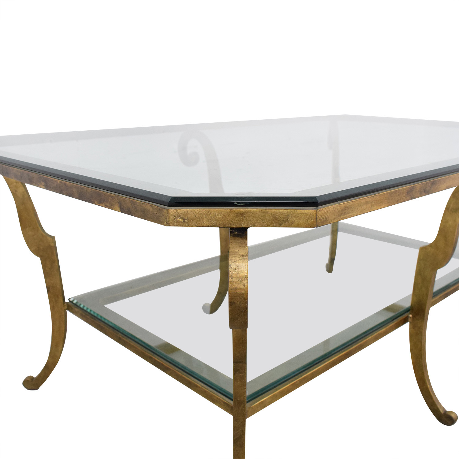 buy Ethan Allen Two Tiered Coffee Table Ethan Allen