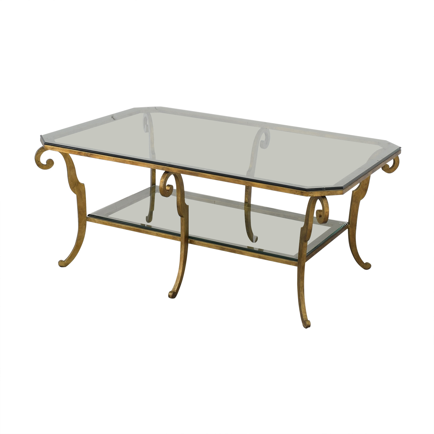 Ethan Allen Ethan Allen Two Tiered Coffee Table ct