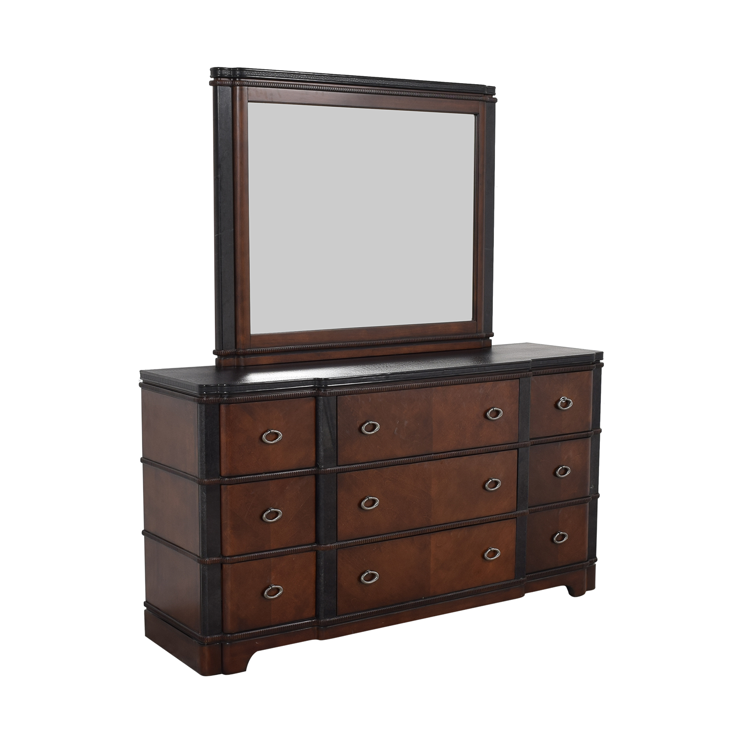 Raymour & Flanigan Raymour & Flanigan Dundee Bedroom Dresser with Mirror used