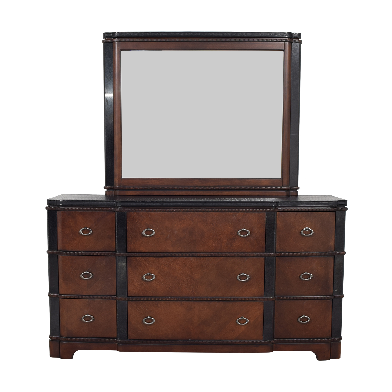 Raymour & Flanigan Dundee Bedroom Dresser with Mirror / Storage