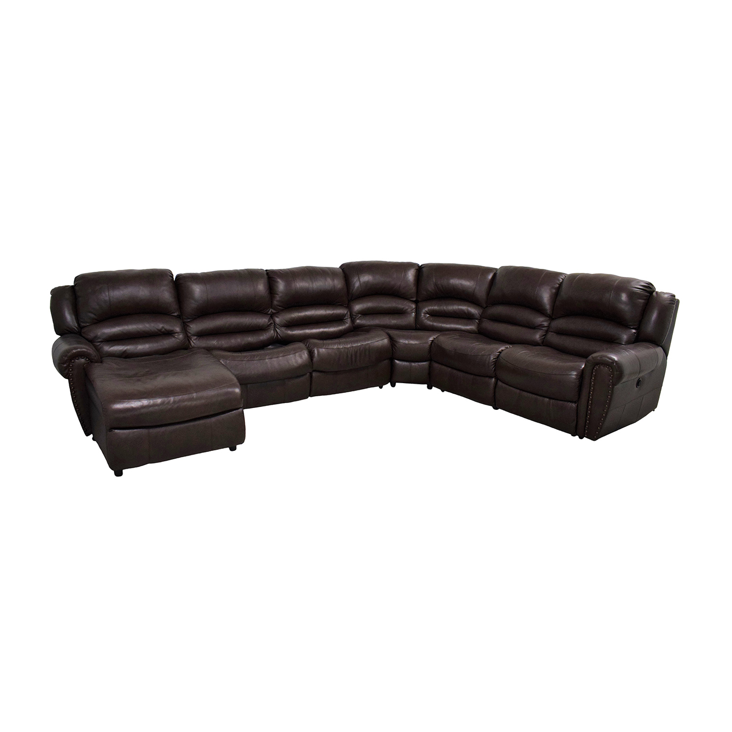 buy Raymour & Flanigan Chaise Recliner Sectional Sleeper Sofa Raymour & Flanigan Sectionals