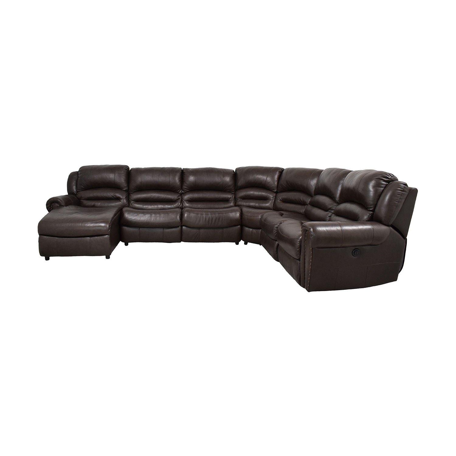 buy Raymour & Flanigan Chaise Recliner Sectional Sleeper Sofa Raymour & Flanigan Sofas
