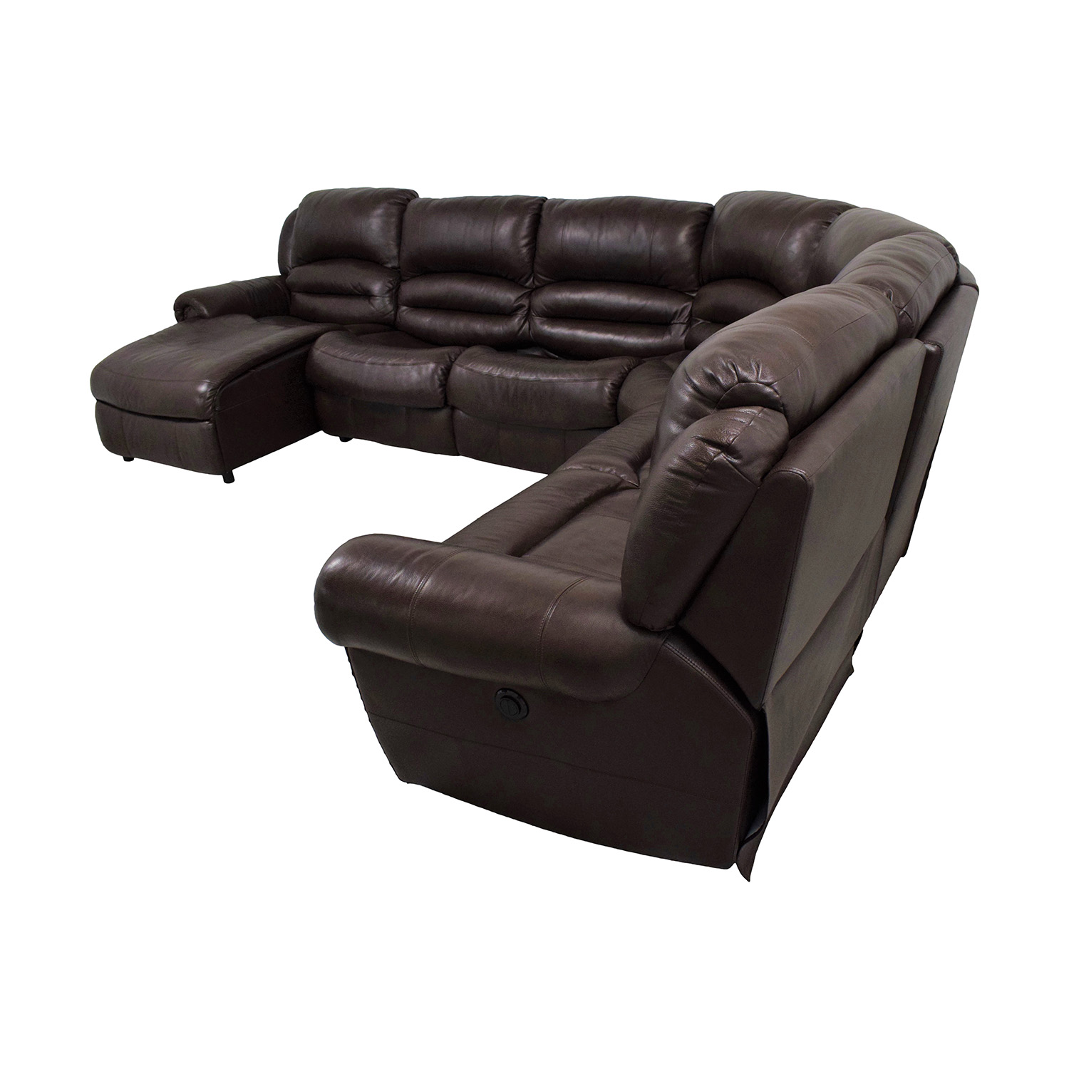 shop Raymour & Flanigan Chaise Recliner Sectional Sleeper Sofa Raymour & Flanigan Sectionals
