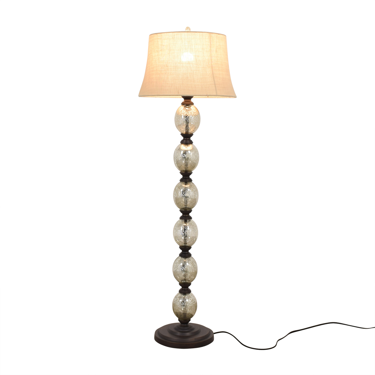 Pottery Barn Pottery Barn Stacked Mercury Glass Floor Lamp price