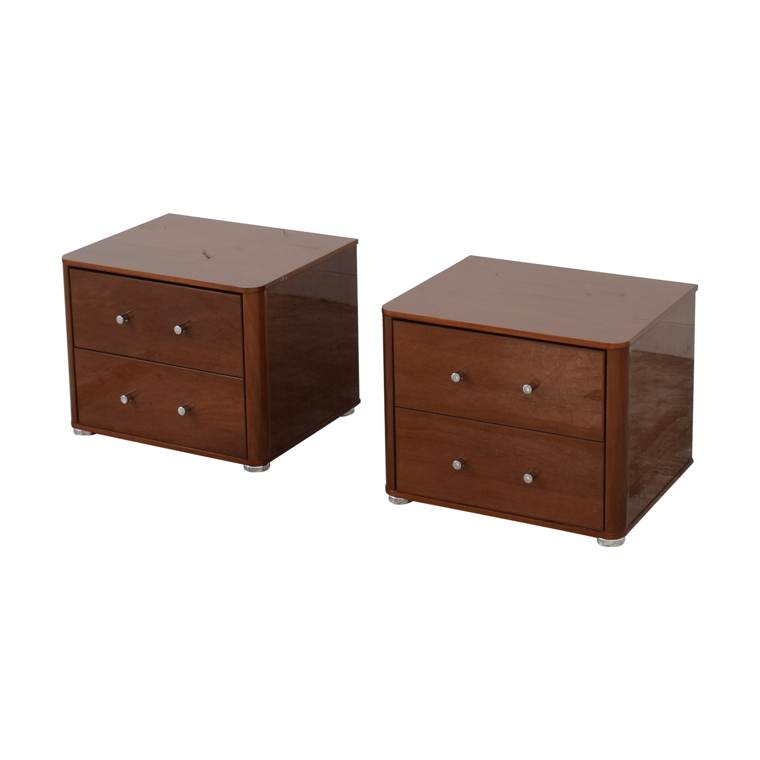 Noci Design Camelgroup Two Drawer Nighstands Noci Design