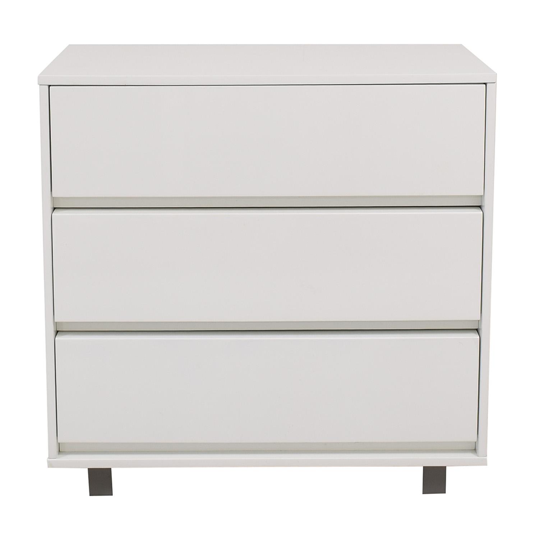 25 Off Cb2 Cb2 Modern Three Drawer Dresser Storage