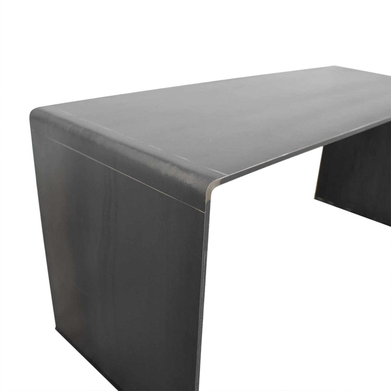 shop Custom Modern Steel Bench  Benches