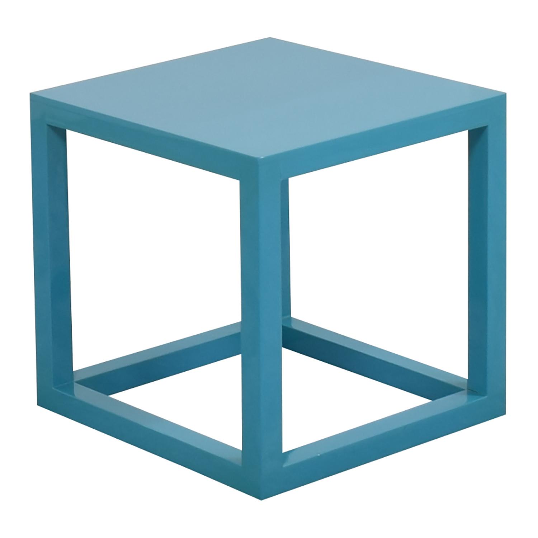 Jonathan Adler Jonathan Adler Lacquer Cube End Table Tables