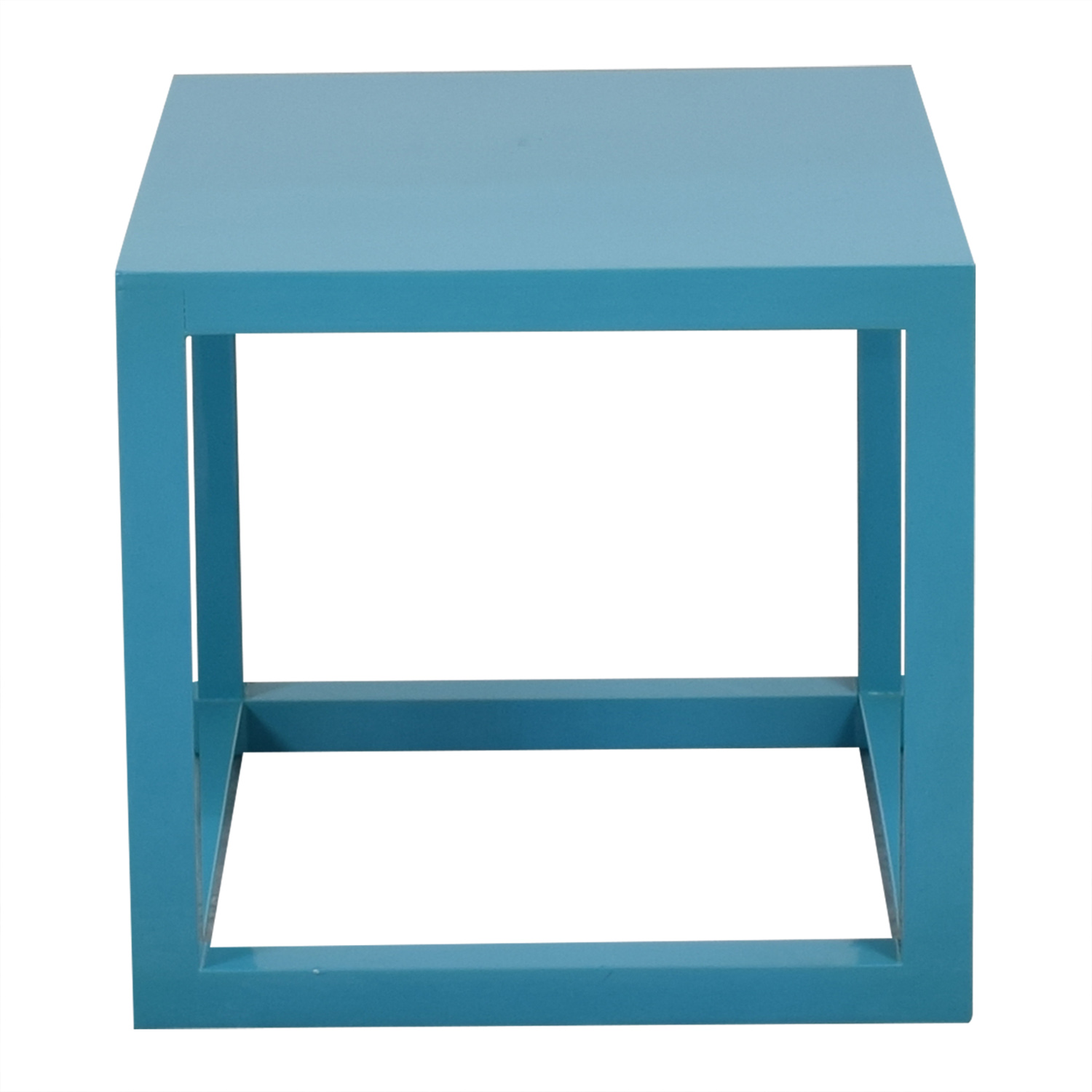 Jonathan Adler Jonathan Adler Lacquer Cube End Table for sale