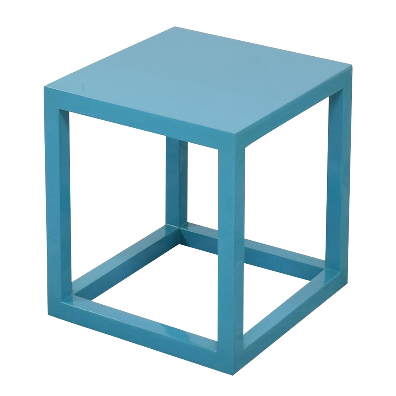 buy Jonathan Adler Lacquer Cube End Table Jonathan Adler Tables