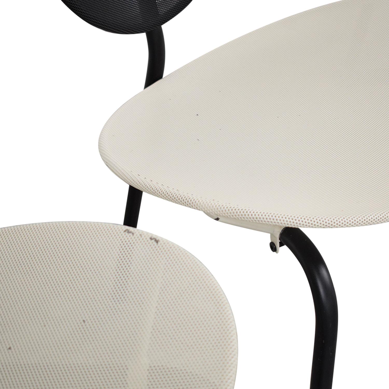 Gubi Gubi Nagasaki Chairs white and black