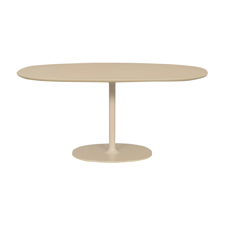 shop Arper Dizzie Oval Dining Table Arper Tables