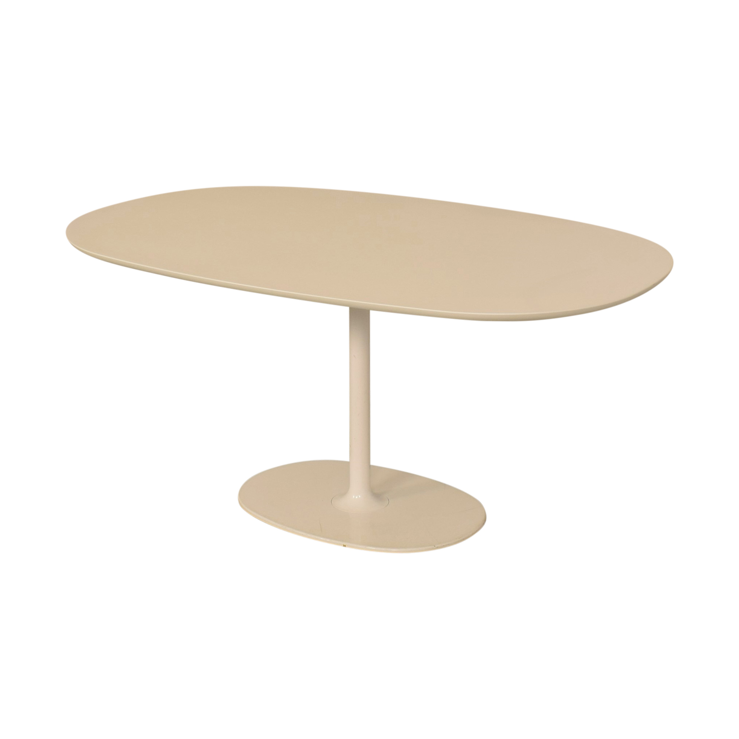 shop Arper Dizzie Oval Dining Table Arper Tables