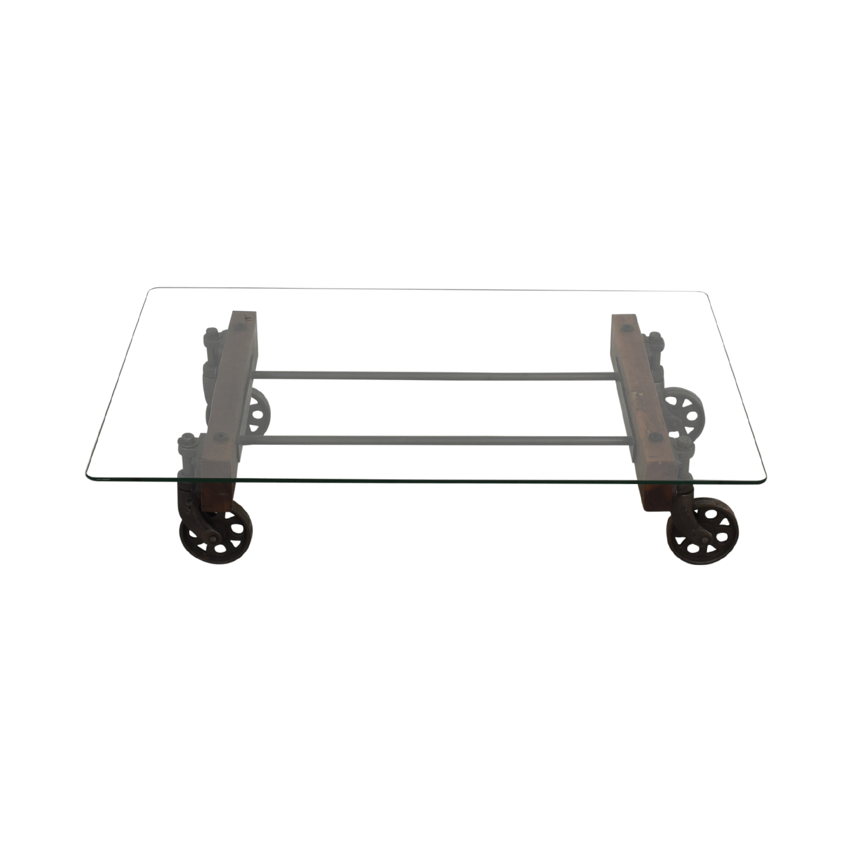 buy ABC Carpet & Home Transparent Coffee Table ABC Carpet & Home
