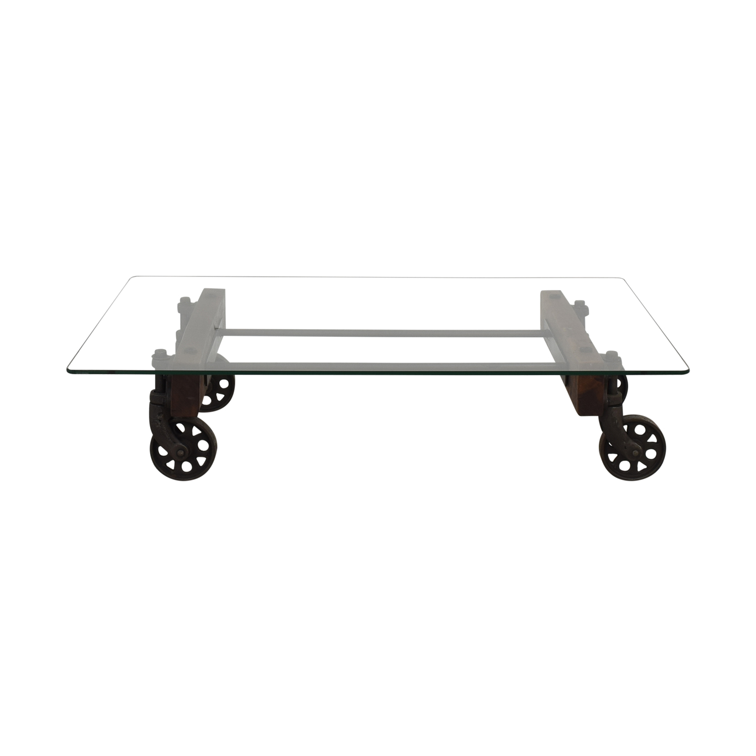 ABC Carpet & Home Transparent Coffee Table sale
