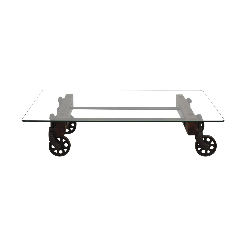ABC Carpet & Home ABC Carpet & Home Transparent Coffee Table pa