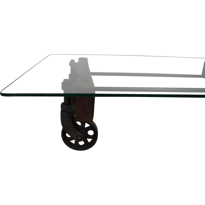shop ABC Carpet & Home Transparent Coffee Table ABC Carpet & Home Tables