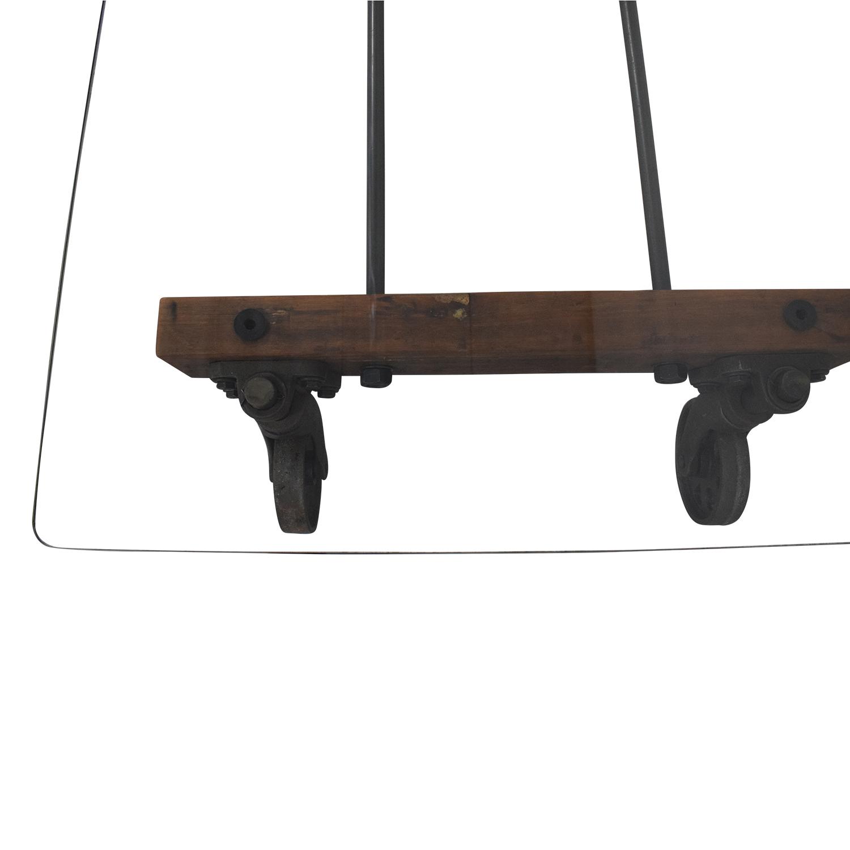 ABC Carpet & Home ABC Carpet & Home Transparent Coffee Table Tables
