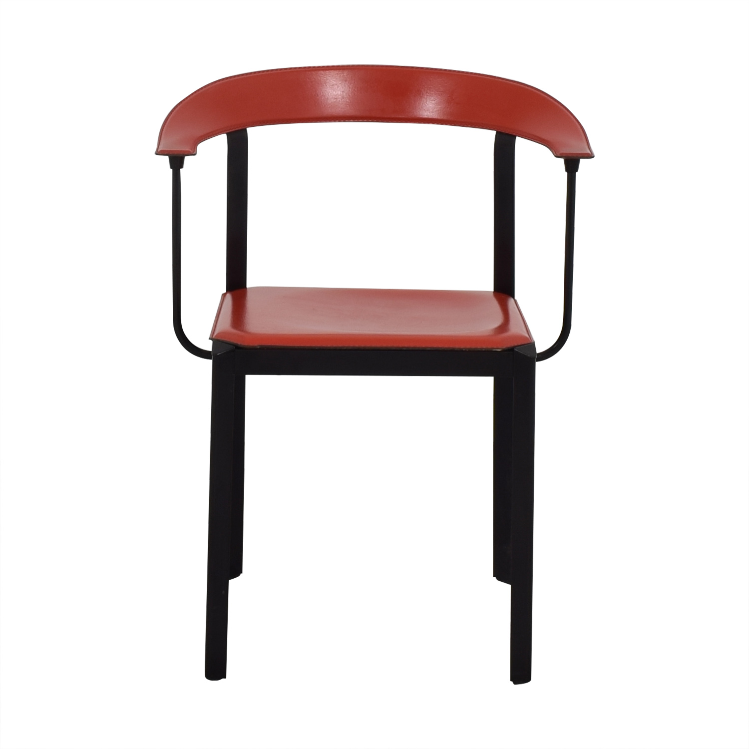 Art Deco Chair red and black