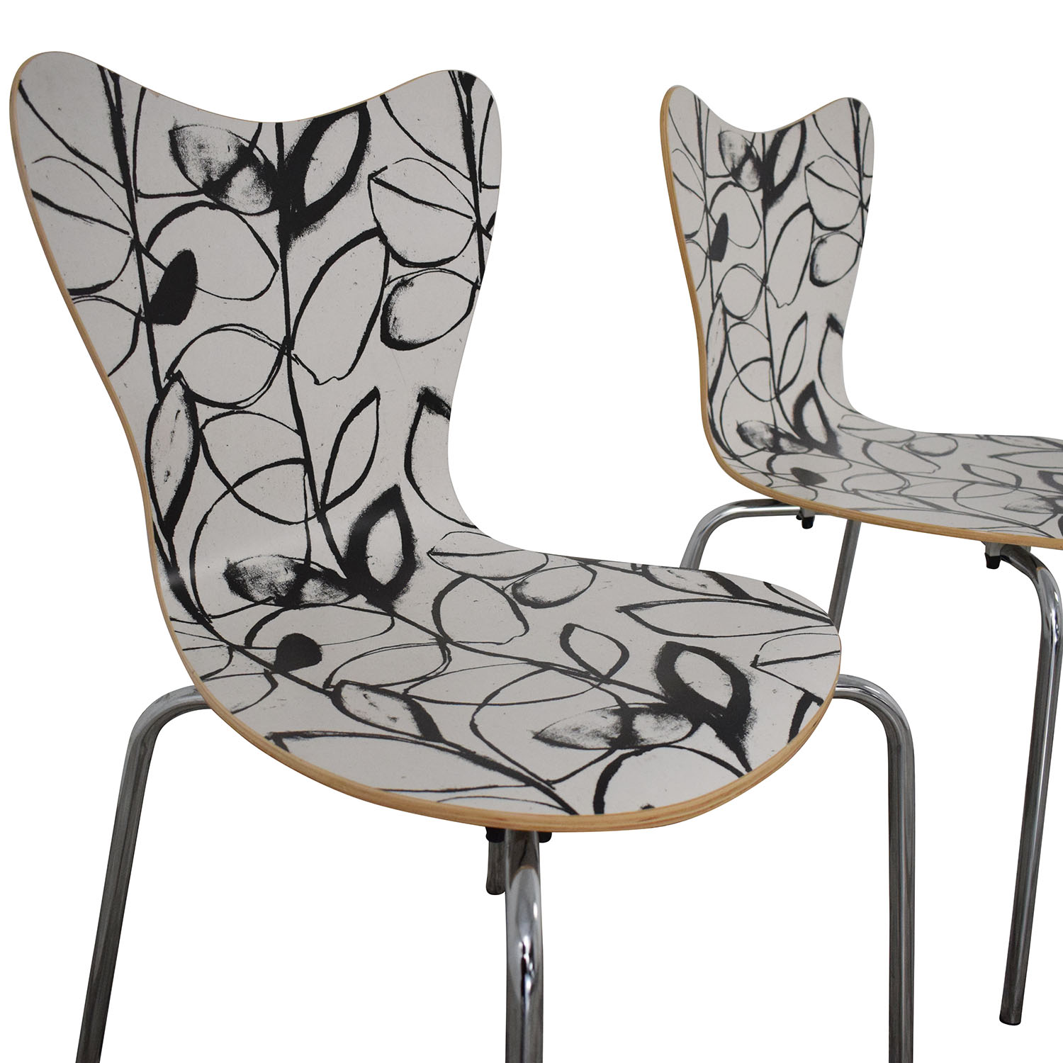 West Elm Decorative Dining Chairs / Chairs