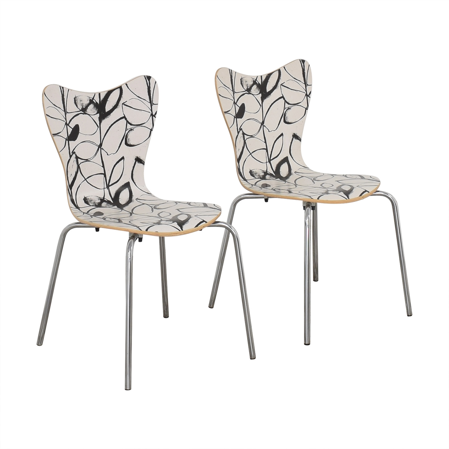 West Elm West Elm Decorative Dining Chairs coupon