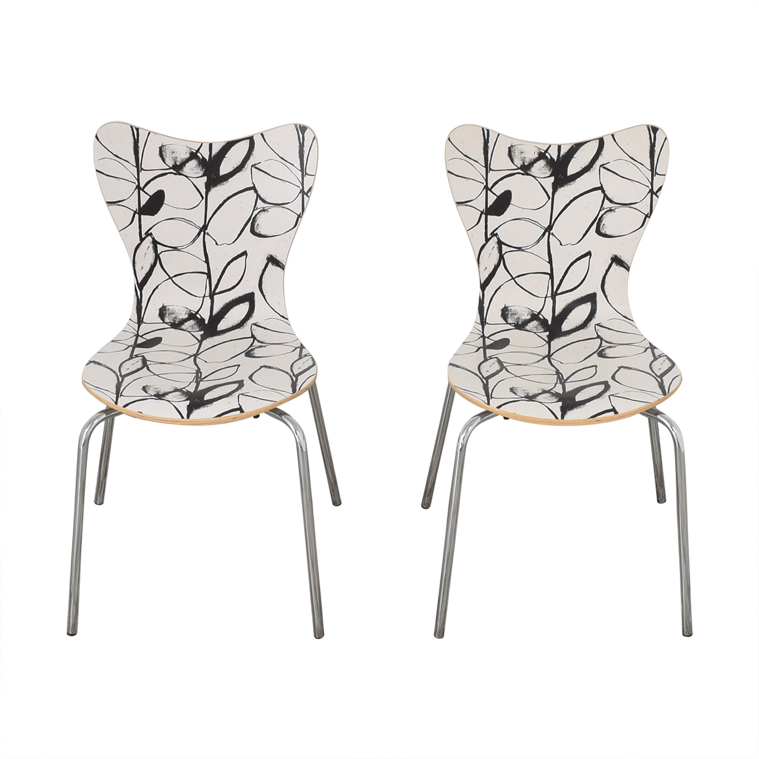 West Elm West Elm Decorative Dining Chairs used