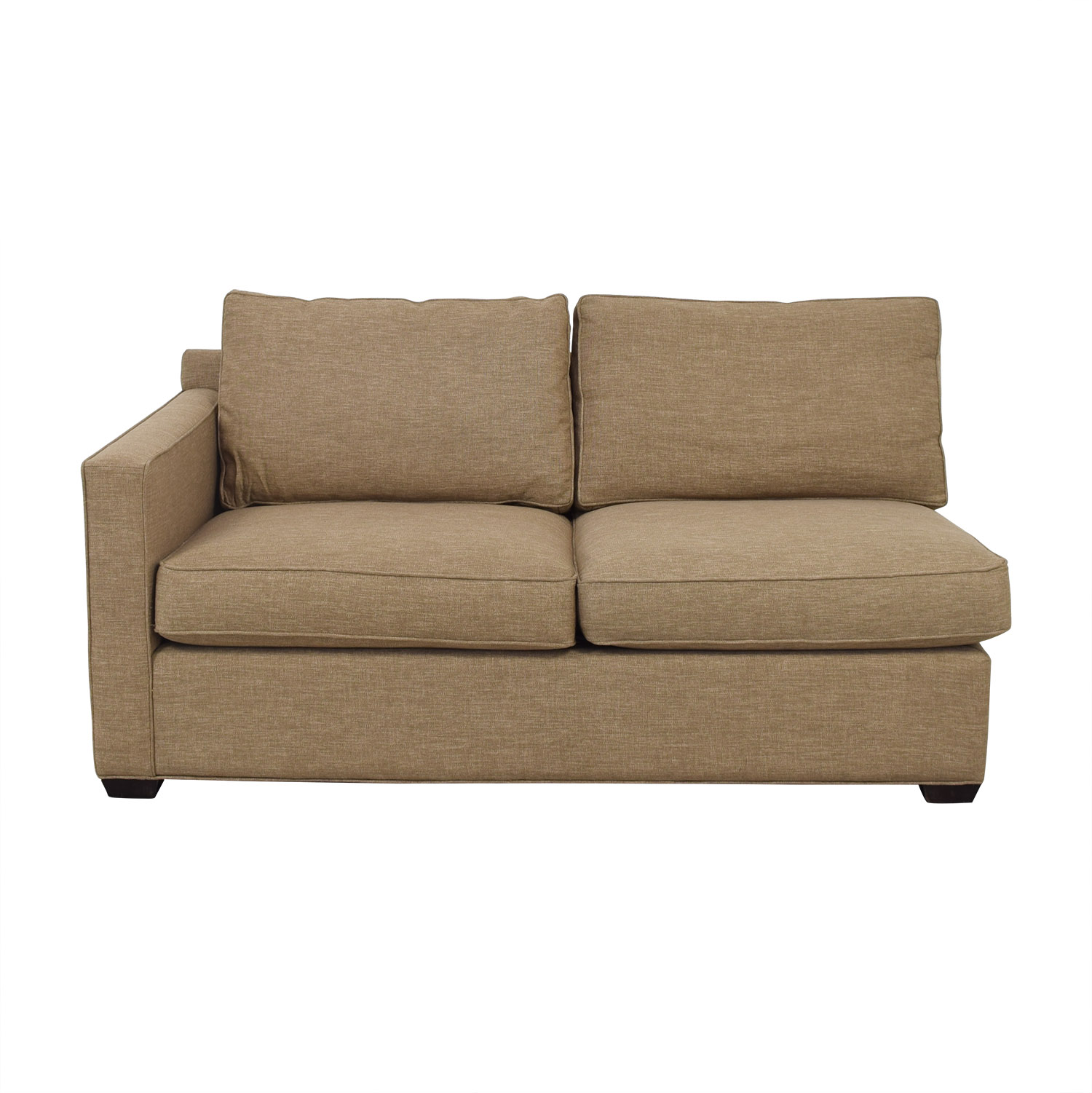 Crate & Barrel Crate & Barrel Davis Left Arm Apartment Sofa ma
