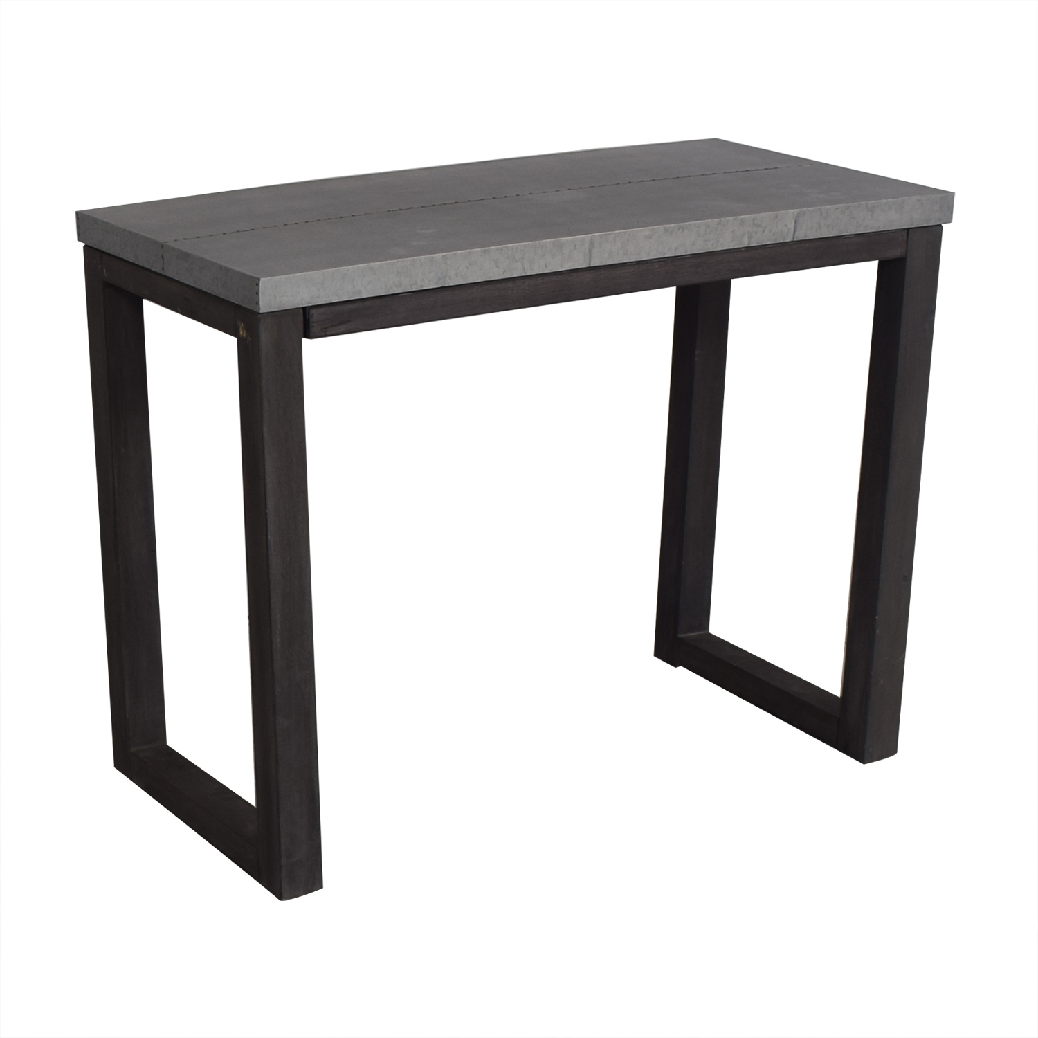 CB2 CB2 Steel Top Table for sale