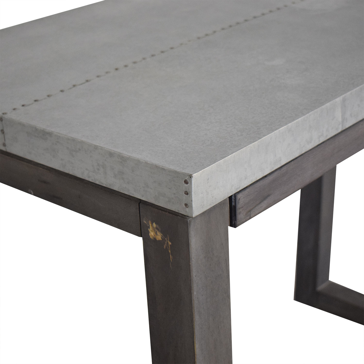 CB2 CB2 Steel Top Table discount