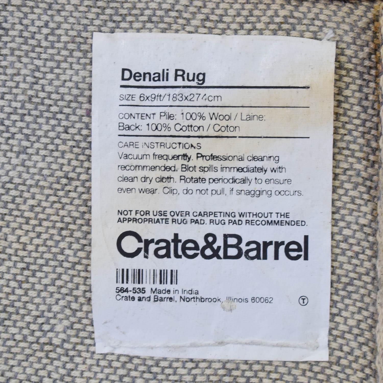 buy Crate & Barrel Create and Barrel Denali Rug online