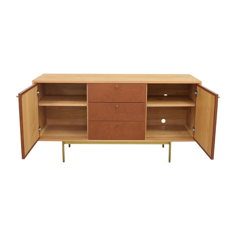 buy West Elm Modern Buffet Table West Elm Cabinets & Sideboards