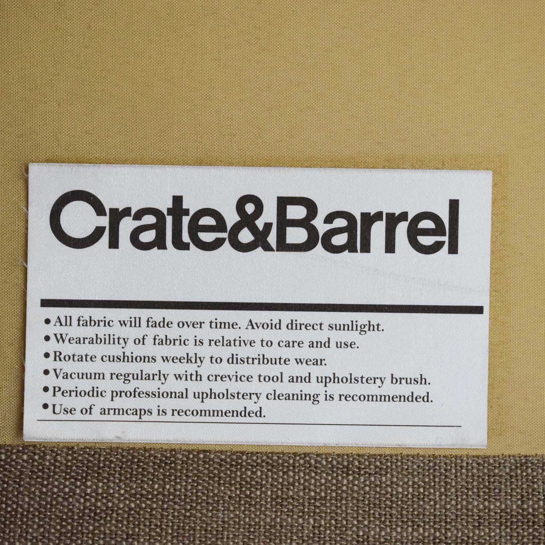 Crate & Barrel Crate & Barrel Modern Sofa