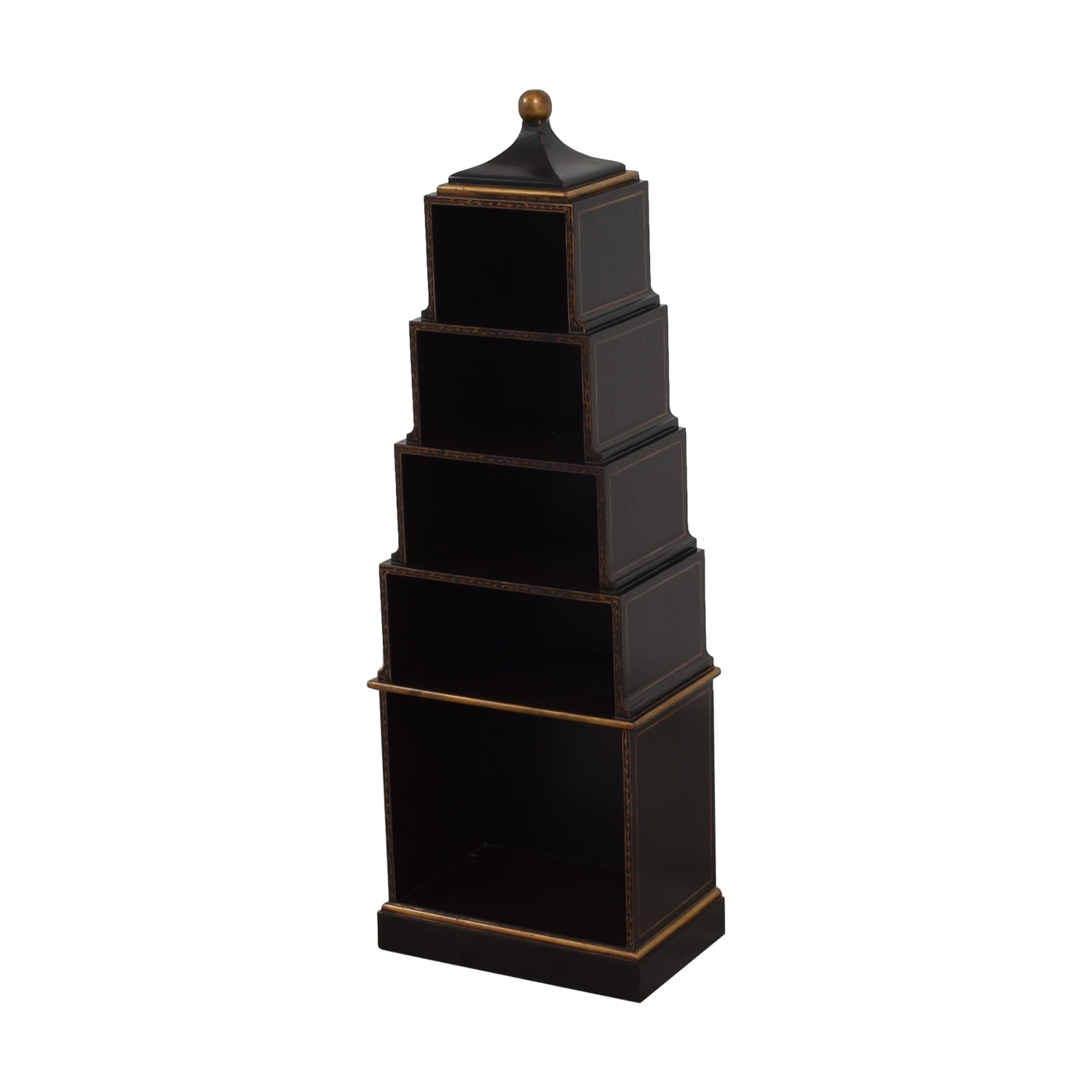 John Richard John Richard Tower Bookcase