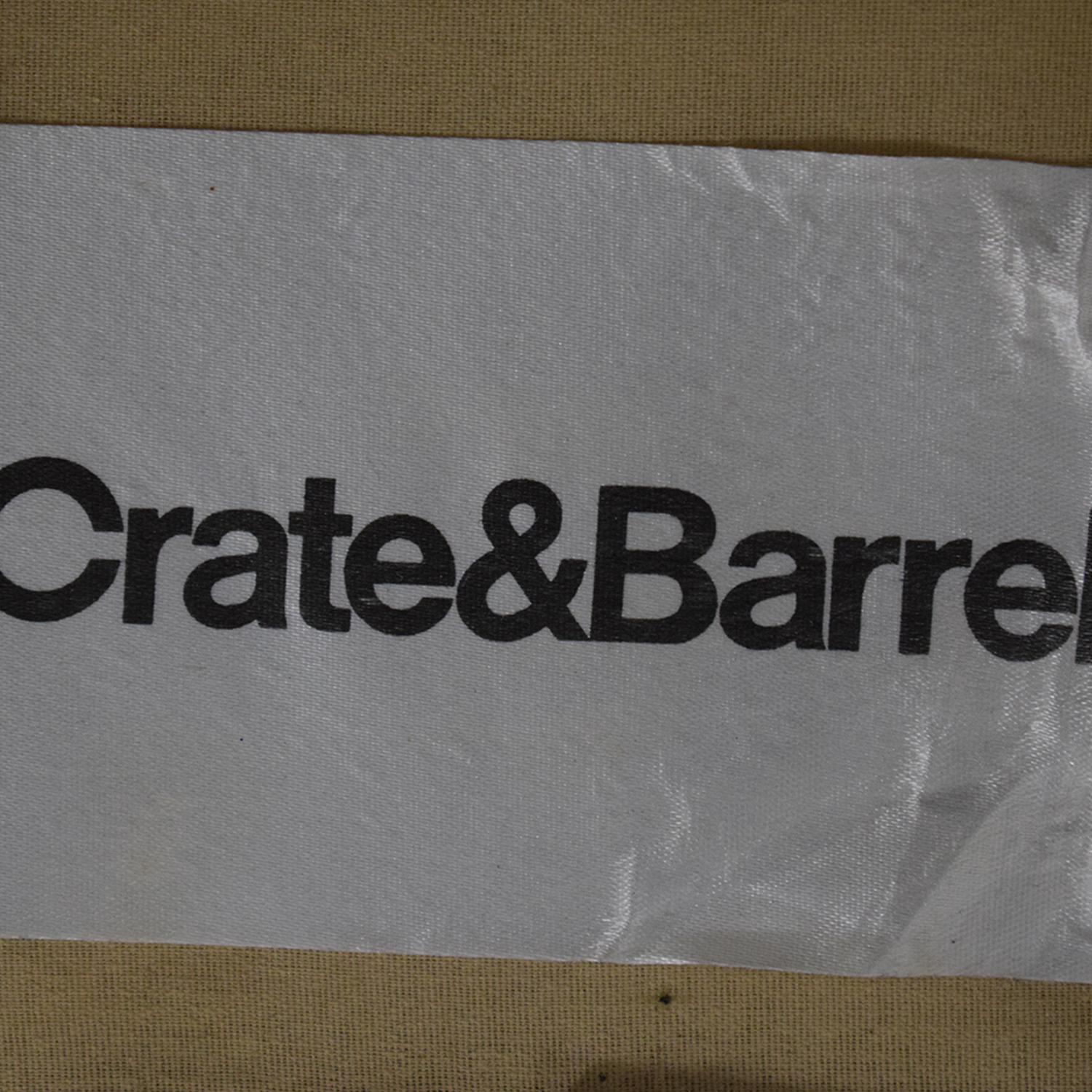 shop Crate & Barrel Crate & Barrel Chaise Sectional Sofa online