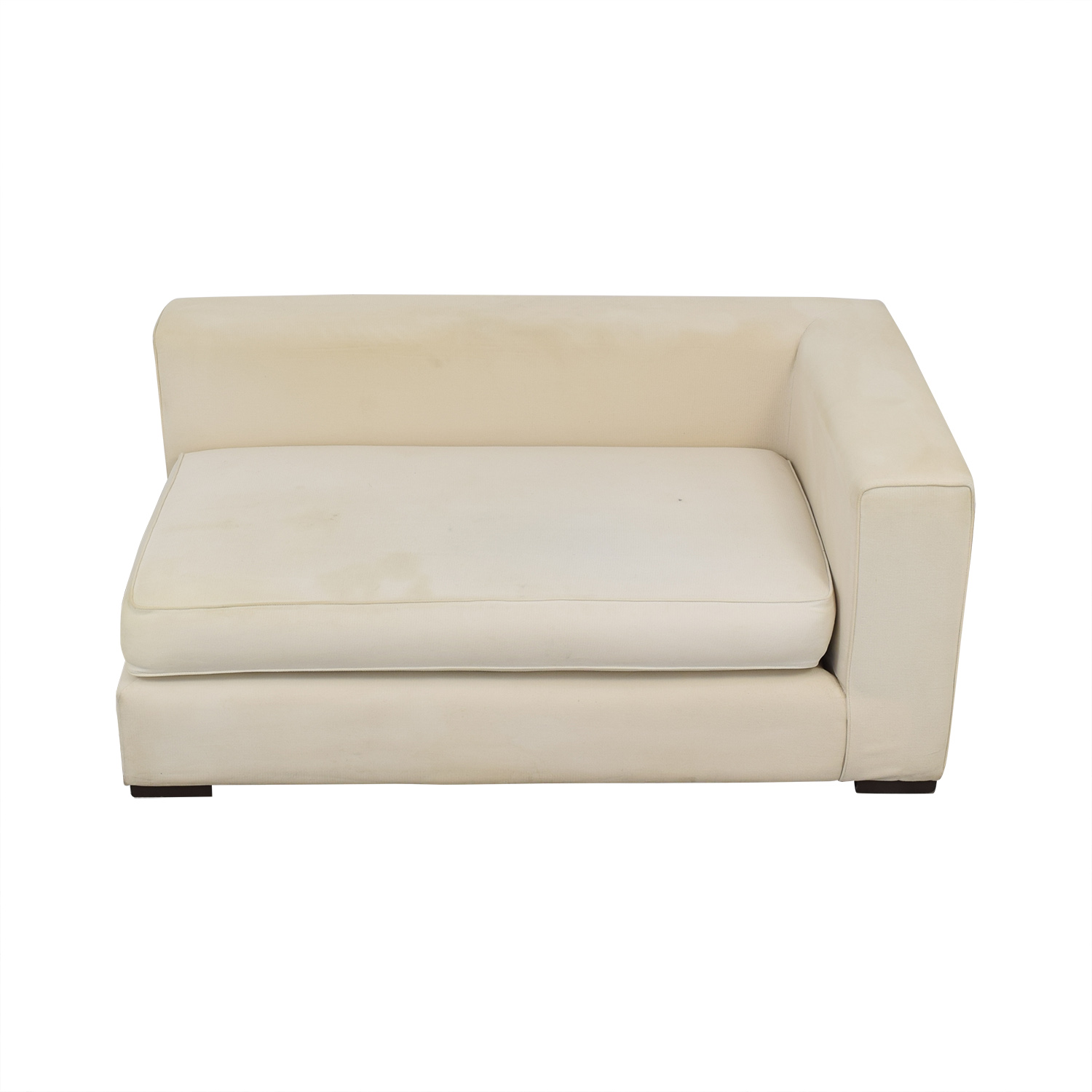 West Elm West Elm Modern Chaise Lounge for sale
