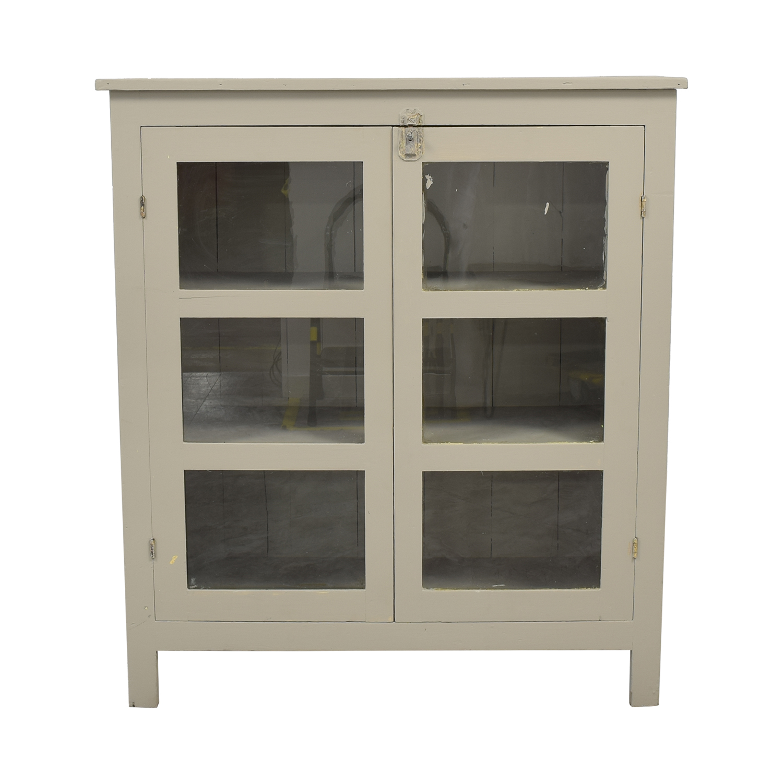 Credenza with Double Doors grey