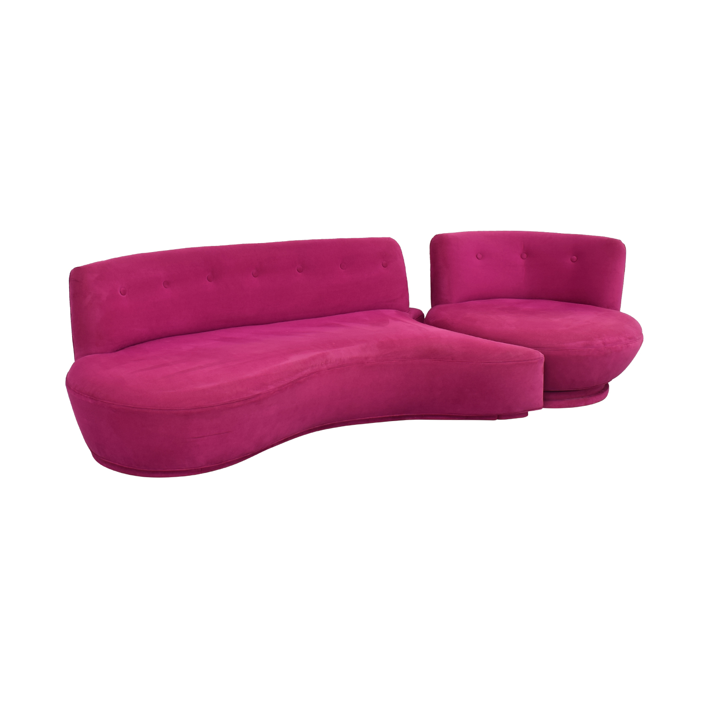shop HUFF  Custom European Sectional Sofa HUFF Sofas