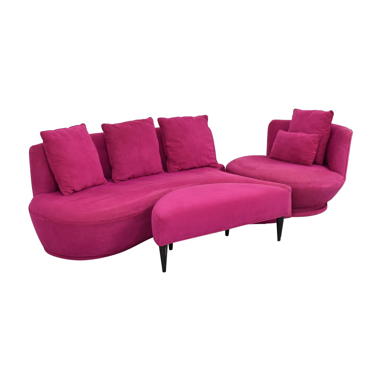 HUFF HUFF  Custom European Sectional Sofa ma