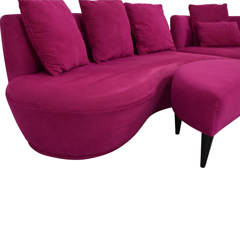 Phenomenal 72 Off Huff Huff Custom European Sectional Sofa Sofas Uwap Interior Chair Design Uwaporg
