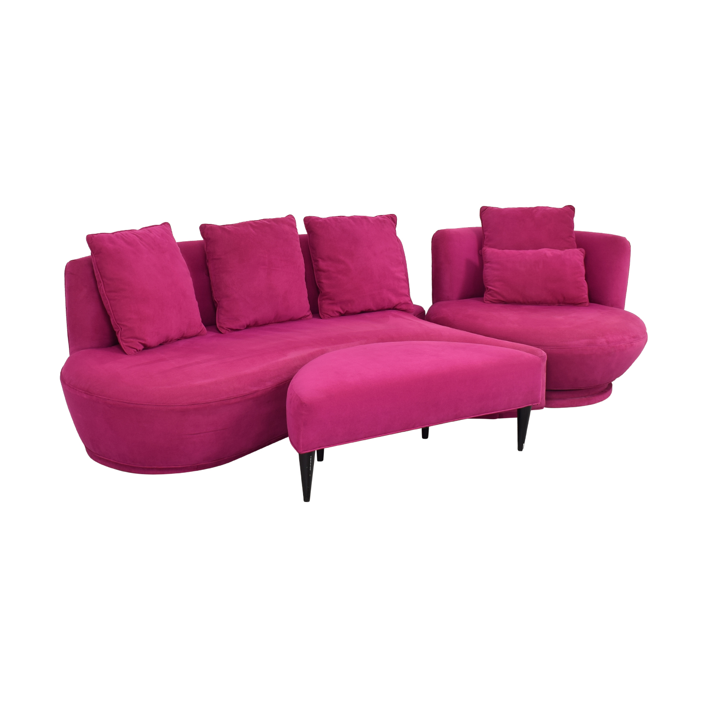HUFF HUFF  Custom European Sectional Sofa coupon