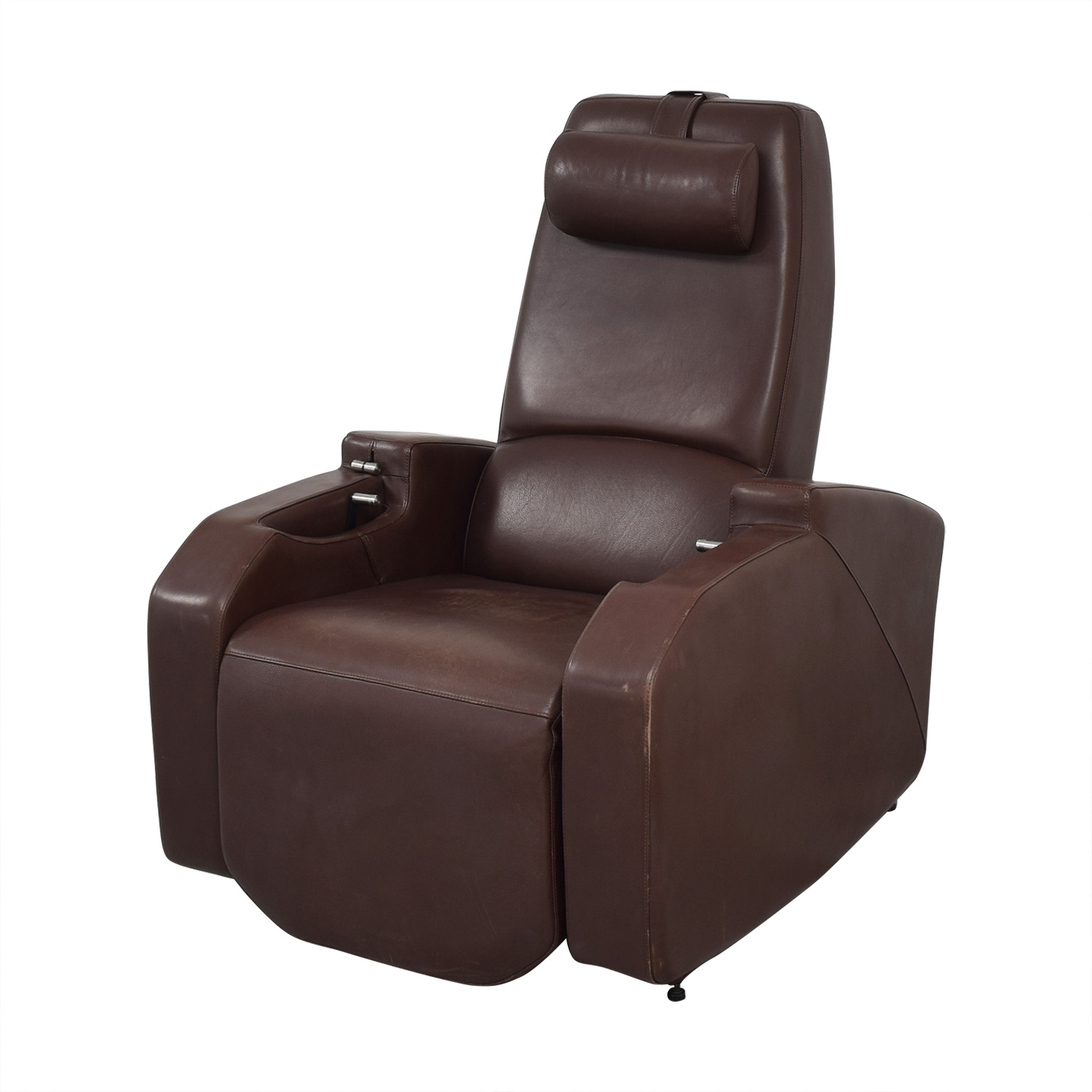 Relax The Back Relax the Back Zero Gravity Leather Rocking Recliner used