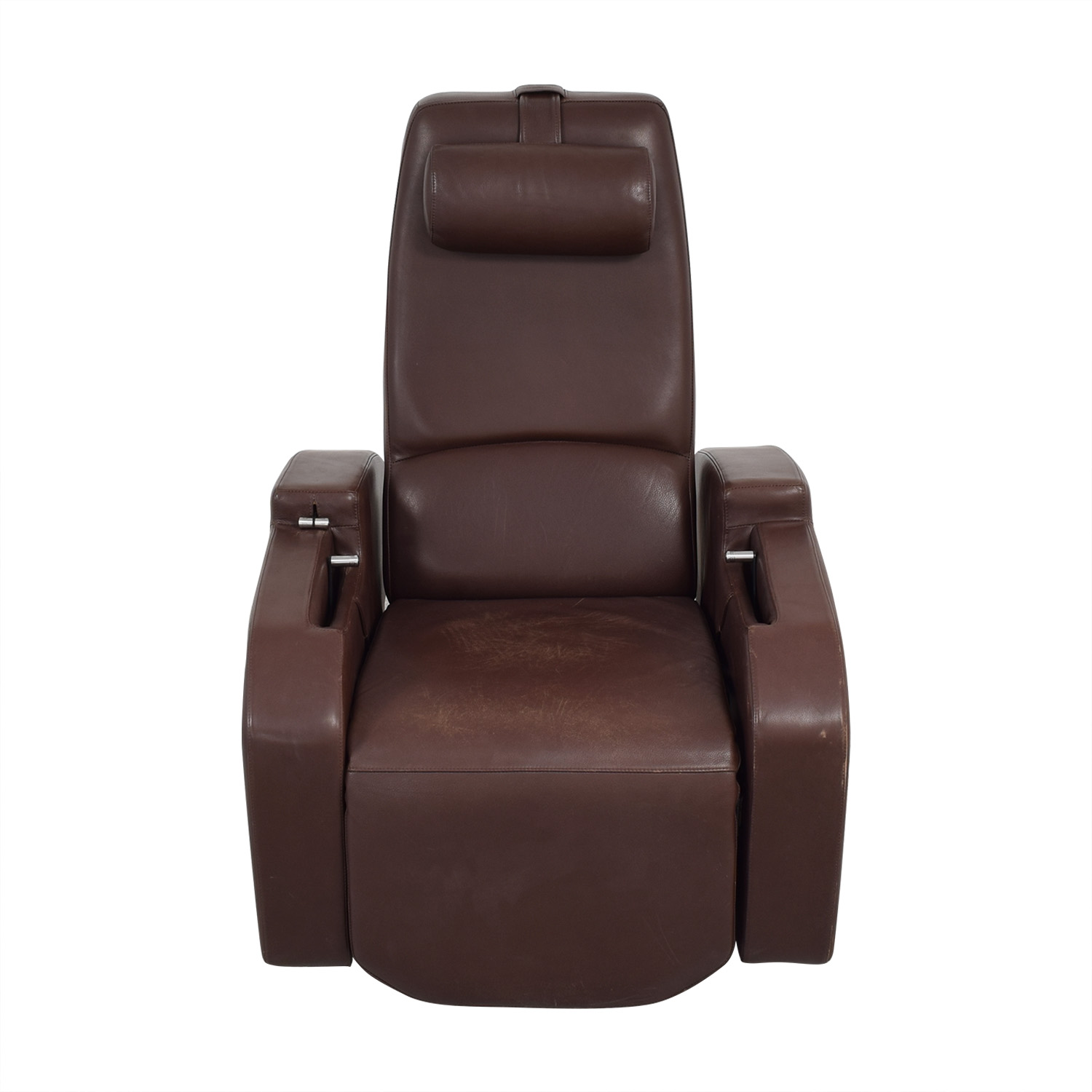 Relax The Back Relax the Back Zero Gravity Leather Rocking Recliner second hand