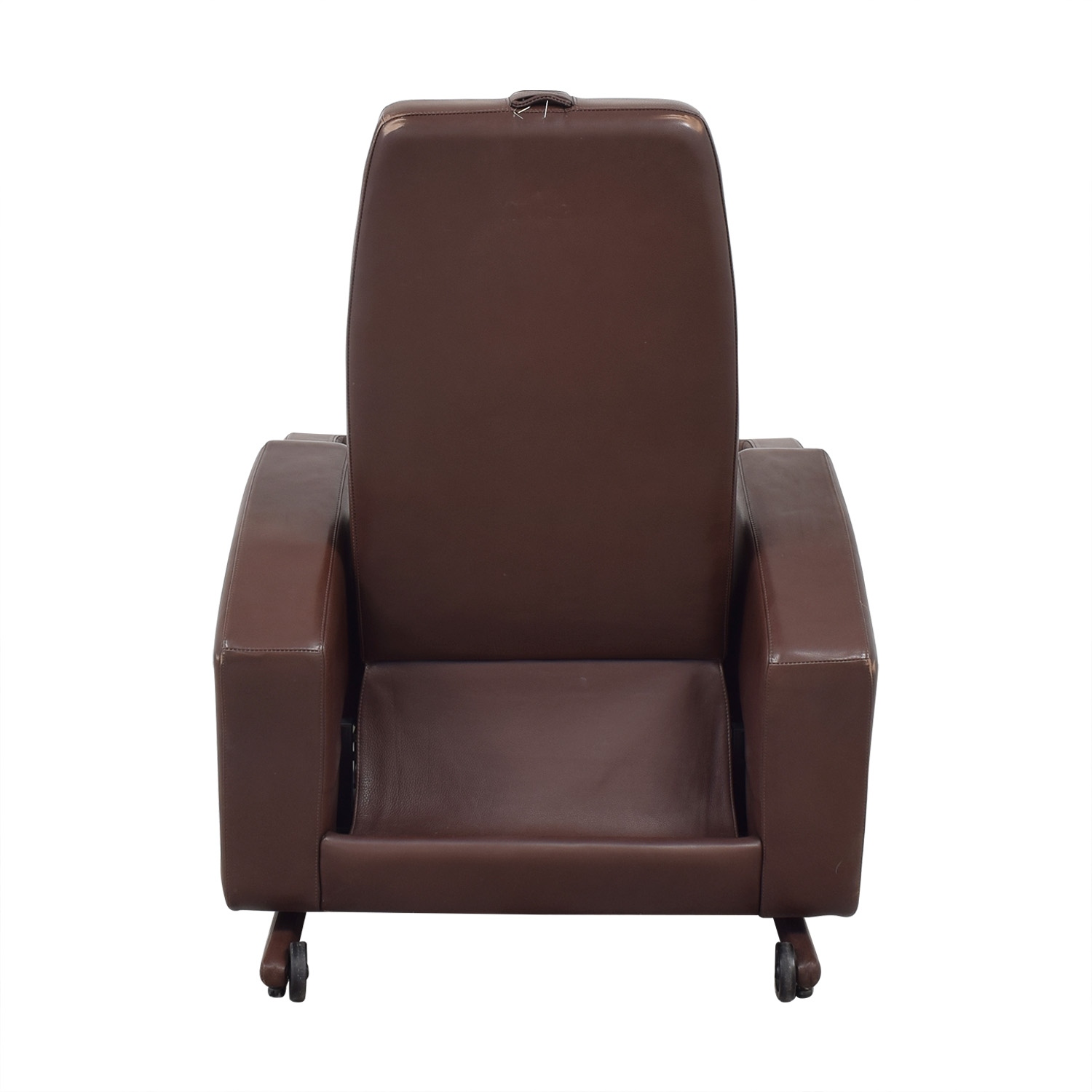 Relax the Back Zero Gravity Leather Rocking Recliner / Recliners