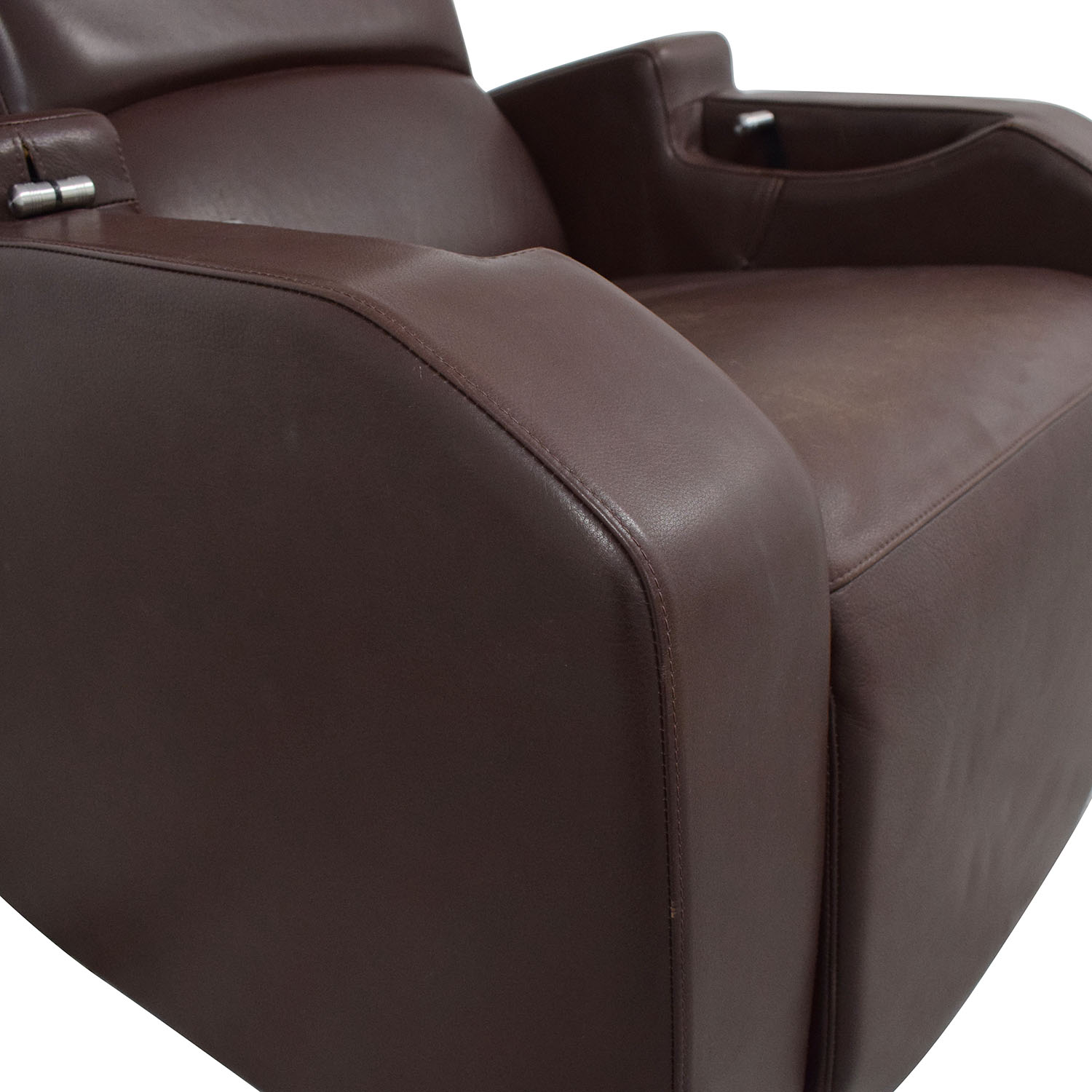Relax The Back Relax the Back Zero Gravity Leather Rocking Recliner ct