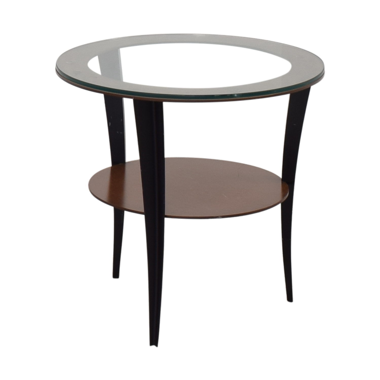 shop Room & Board Round Side Table Room & Board